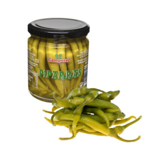 "Green Sweet Chilli pickled ""Piparras"""